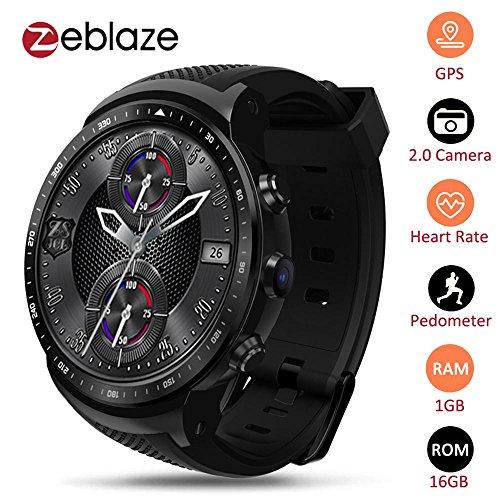 Zeblaze Thor PRO 3G GPS WIFI Smartwatch Android 5.1 MTK6580 Quad Core 1GB 16GB 2.0 MP GPS WIFI Smartwatch Android 5.1 MTK6580 Quad Core 1GB 16GB 2.0 MP Kamera