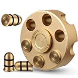 Alloy Fidget Spinner Metal,Fidget Cube Chain Toys Small Sensory Gadget Finger Hand Spinner Low Noise Focus Toy Stainless Steel Bearing,Best Gift Party Favors Prizes for Kids Adults