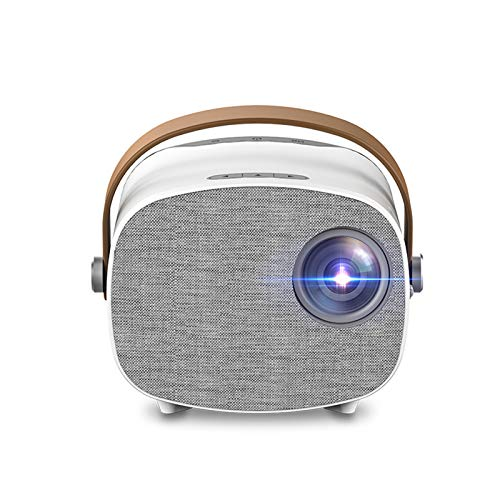 AWJK Mini Beamer mit Screen Mirroring,3000 Lumen Heimkino Beamer Full HD 1080P Video Beamer mit 100' Display, 30000 Stunden LCD Beamer kompatibel mit HDMI/USB/SD/AV/VGA