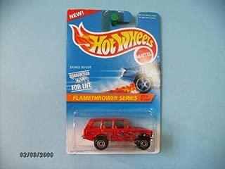 Hot Wheels Range Rover ,1996 Flamethrower Series # 3, Tan Interior