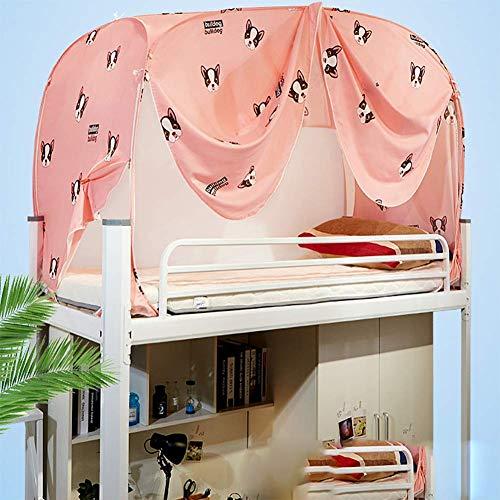 HEXbaby Mosquitera litera Dormitorio Femenino Doble persianas Altas y Bajas Cama Cortina Cama para niños…
