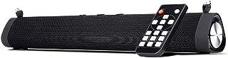 Docooler Portable Desktop Bluetooth Speaker Sound Bar 2 * 8W Bass Subwoofer With Shoulder Strap Wireless Remote Control Su...