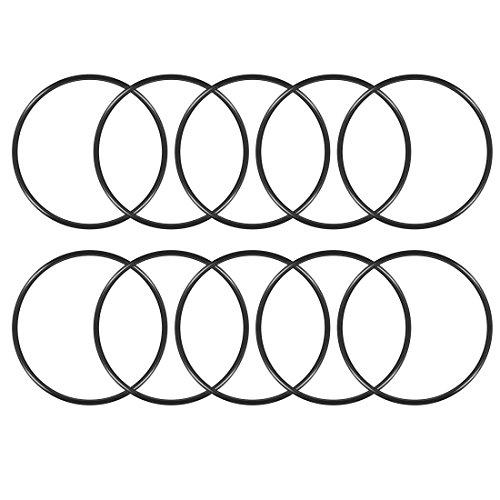 sourcing map 10Packungen Nitril Gummi 150mm Außendurchmesser 140mm ID 5mm Breite O-Ringe metrisch Dichtung