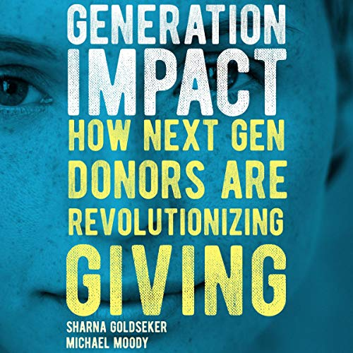 Generation Impact audiobook cover art