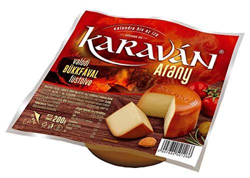 Karaván Arany füstölt zsíros sajt 200 g, Ungarischer Räucherkäse