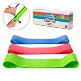 Stretchy Resistance Fidget Bands Toy for Kids 3 Pack | Bounce, Kick & Stretch Your Feet | for ADHD, ADD, SPD, Autism & Poor Concentration | Improve Classroom Focus, Ameliorate Sensory Input