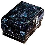 Laogg Caja Joyero Chino,Caja de joyería Caja de Almacenamiento de maderachinacaja de vestidorcaja de joyería Caja de joyería de lacaregalogrúa Blanca