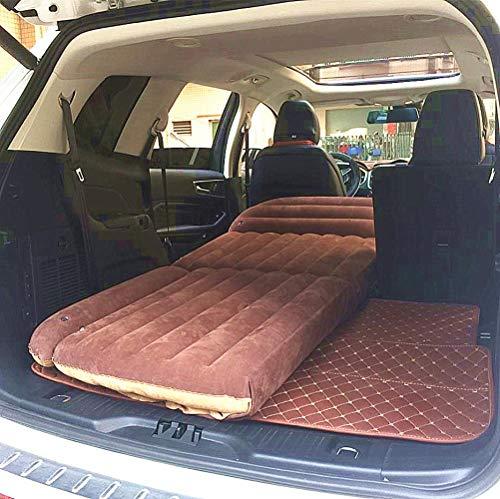 DGJEL Materasso Gonfiabile per Auto Bagagliaio SUV Floccaggio Cuscino Gonfiabile Imbottito Portatile Letto da Viaggio per Auto Sexy Materasso per Auto per Bambini