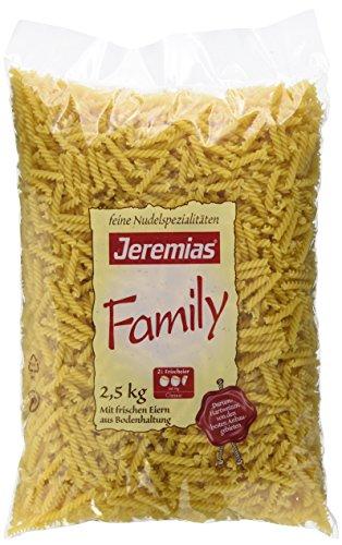 Jeremias Jerelli, Family Frischei-Nudeln, 1er Pack (1 x 2.5 kg Beutel)