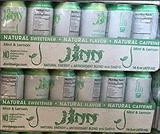 Jinn Energy drink : Natural Energy + Natural Ingredients + CoQ10 + Antioxidant Blend. No sugar, artificial color or preser...