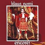 Songtexte von Klaus Nomi - Encore!