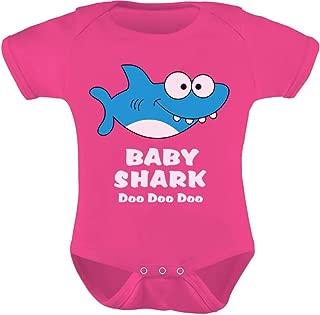 Tstars - Baby Shark Song Doo doo doo Family Dance for Boy Girl Baby Bodysuit