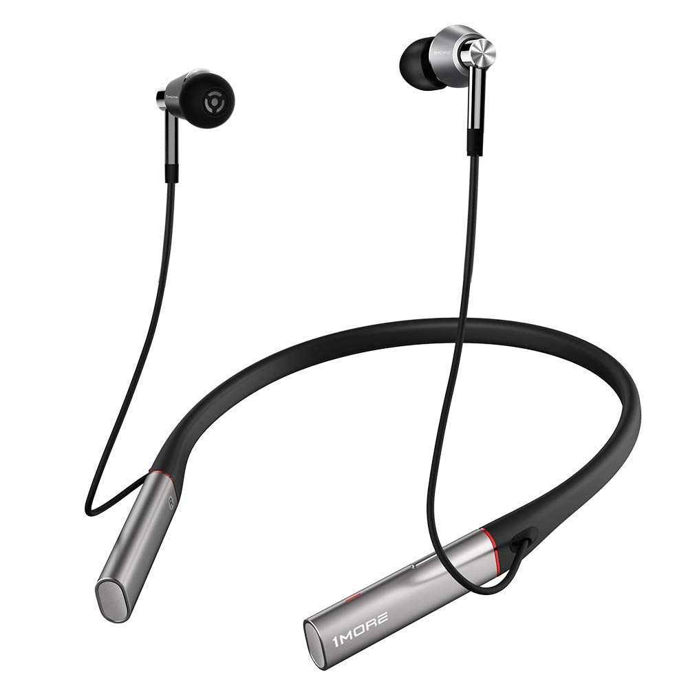Amazon Com 1more Triple Driver Bt In Ear Headphones Bluetooth Earphones With Hi Res Ldac Wireless Sound Quality Environmental Noise Isolation Fast Charging Volume Controls With Microphone Silver Electronics