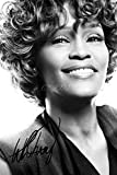 WHITNEY HOUSTON Signé photo Print ? Superbe qualité ? 30,5 x 20,3 cm (A4)
