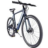 Accolmile Bici Elettrica da Città Trekking Road Bike 28' 700C Bicicletta Elettrica leggera per...