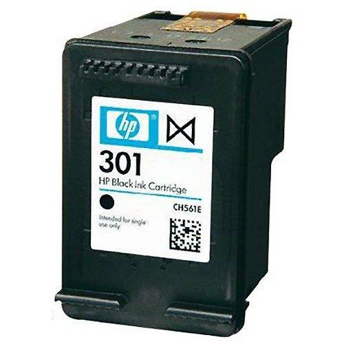 HP - Cartucho de tinta original HP 301 para impresoras HP Deskjet 2510 (color negro)