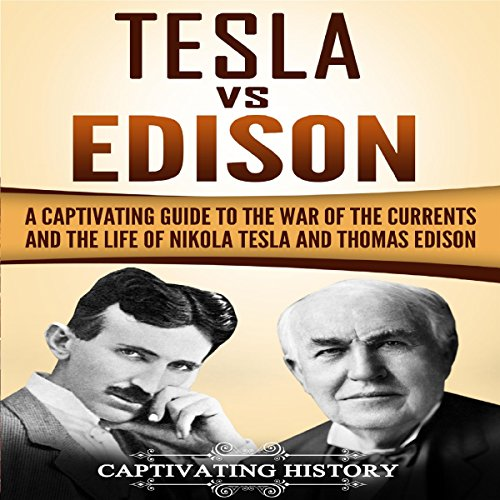 Tesla vs Edison audiobook cover art