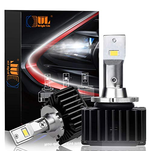 D1S D1R Led Headlights,70W Headlight Bulbs Non-Destructive Installation Replacement for D1S D1R HID Xenon Headlight bulbs, Pack of 2