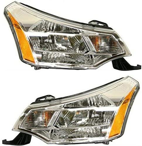 Headlight Set Compatible with 2008-2011 Focus Ford Max 77% OFF and Left Righ All items free shipping