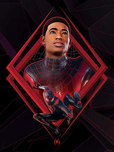Pyramid Spider-Man Miles Morales - Be Greater - Lienzo 60x80cm