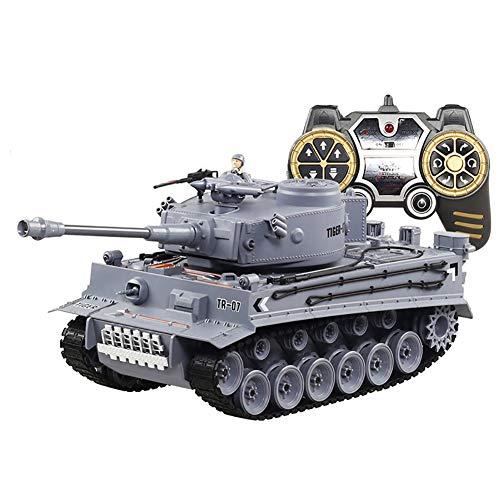 ZUOQUAN Tanque De Control Remoto Eléctrico Torreta 320 ° De Rotación Manual...
