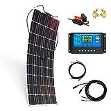 Kit Placa Solar 700W/H/Día 12V Autocaravana y Furgoneta Camper