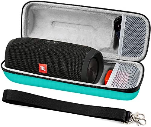 COMECASE Carrying Case Storage for JBL Charge 3 JBLCHARGE3BLKAM Waterproof Portable Bluetooth Speaker. Fits USB Cable and Charger Adapter. [ Speaker is Not Include