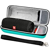 Hard Travel Case Storage for JBL Charge 3 Waterproof Portable Wireless Speaker. Fits USB Cable and Charger Adapter. [ Speaker is Not Include ]