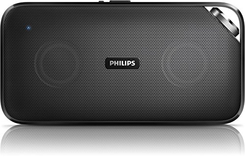 Philips BT3500 portabler Bluetooth-Lautsprecher (Bluetooth, NFC, 10 Watt, Mikrofon) schwarz