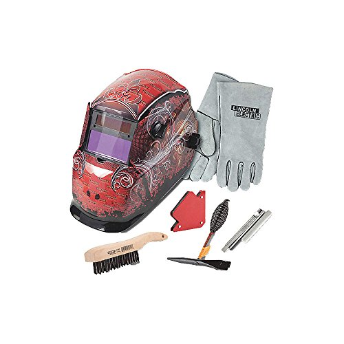 Lincoln Electric Auto-Darkening Welding Helmet Kit - Grunge, Model Number KH961