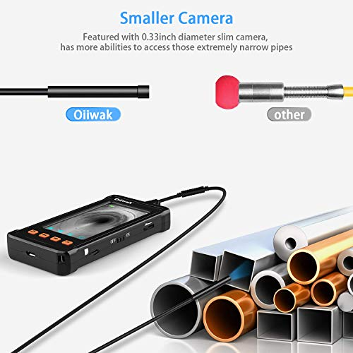 Product Image 3: 50FT Industrial Endoscope for Plumbing Inspection (1080P HD 4.3inch LCD Screen)