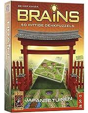 999 Games - Brains: De Japanse Tuinen Breinbreker - vanaf 8 jaar - Een van de beste spellen van 2015 - Reiner Knizia - Tile placement - voor 1 speler - 999-BRA01