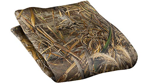 Allen Company Vanish Burlap for Hunting Blinds - Realtree Max, Realtree Max5-12 ft x 56 in, One Size (25334)