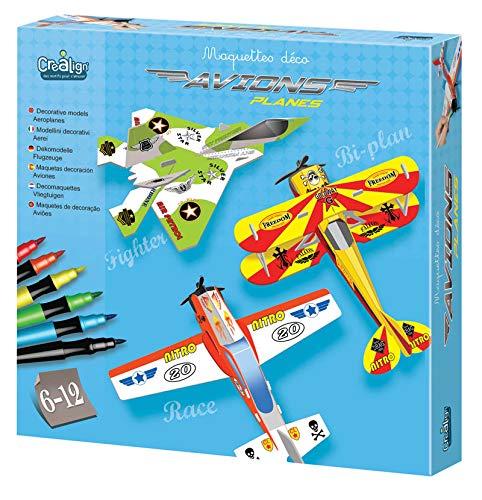 Crea lign'- Pack de 3 Maquettes Deco déco, CL118