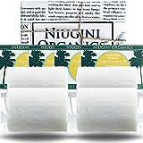 4 x Jabónes de aceite de coco virgen puro orgánico del MUNDO para todo tipo de piel, barra de 100...