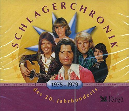 Schlagerchronik des 20. Jahrhunderts 1975 - 1979 3 CDs