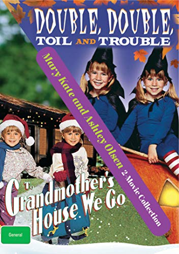 2 Movie Set - To Grandmother's House We Go / Double, Double, Toil and Trouble - Olsen Twin Movies - DVD Collection Set - Mary Kate and Ashley