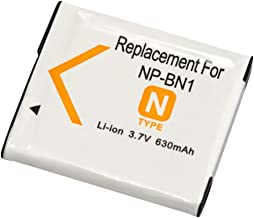 Amsahr BT-CANP40-1CT Num/érique Remplacement Cam/éra//Cam/éscope Batterie pour Casio Np-40//Np-40Dba//Np-40Dca//Exilim Ex-Z850//Ex-Z750//Ex-Z65 Gris