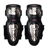 MLSice Genouillères coude Shin Armure Protect kit Pads Garde, VTT Adultes en Acier allié Motocross Moto Kits...