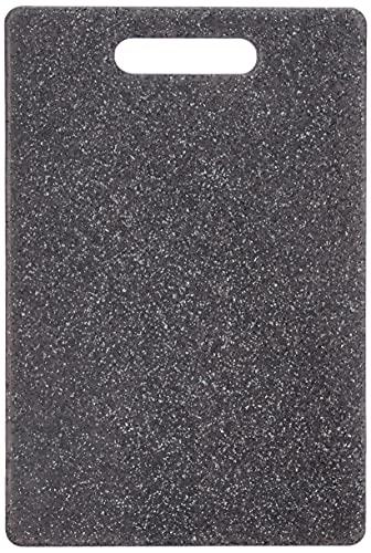 Zeller 26056 Tagliere Granitoptik, Grigio, 30x20x0.8 cm