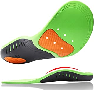Orthotic Insoles, HOME-MART Plantar Fasciitis Insole, Full Length Heel Seats Foot Orthotic Inserts with Arch Support for Treating Heel Pain and Heel Spurs