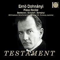 ベートーヴェン:ピアノ・ソナタ第16番、シューベルト:ピアノ・ソナタ第18番、自作自演集(1959年)、他 エルンスト・フォン・ドホナーニ(2C