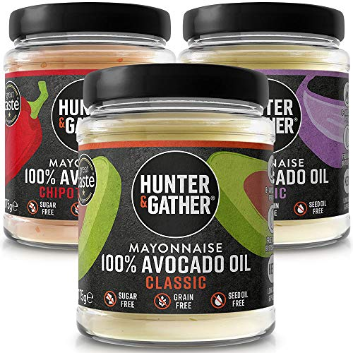 Hunter & Gather Mayonesa de Aceite de Aguacate Paquete de Variedades |...