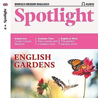 Spotlight Audio - English Gardens. 8/2019 Titelbild