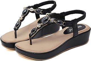 b86723b6b8 Amazon.it: infradito donna eleganti con tacco - Scarpe: Scarpe e borse