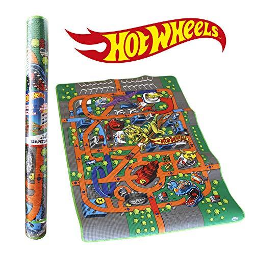 ODS- Mattel Hot Wheels Tappetone Gioco e Arredo, Colore Vari, 42027