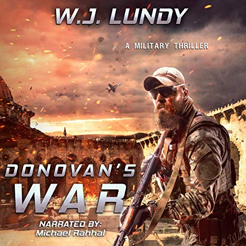 Donovan's War audiobook cover art