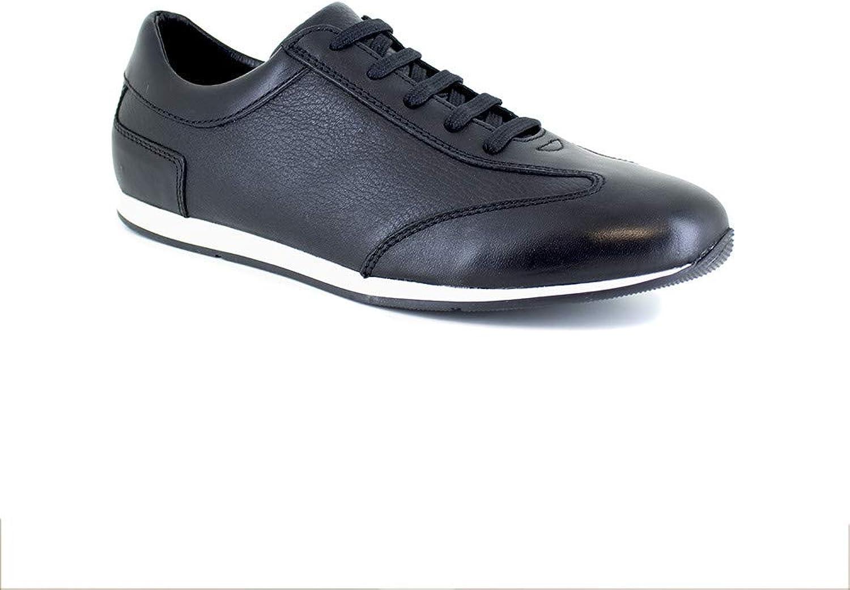 J.Bradford Sneaker Black Leather JB-KERLANN