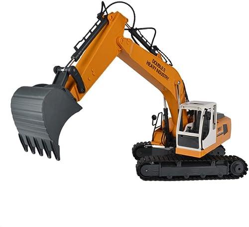 autorización oficial CZALBL CZALBL CZALBL Juguete para Excavadora, Control Remoto inalámbrico, Excavadora, vehículo de ingeniería, Recargable, Adecuado para Las Fiestas Infantiles y Regalos de cumpleaños  apresurado a ver