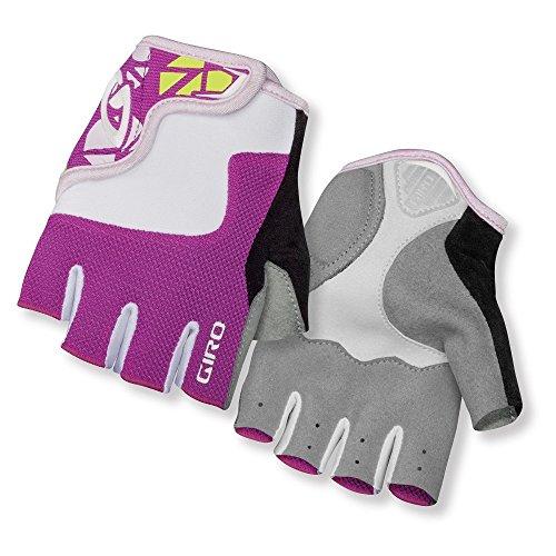 Giro Kinder Fahrradhandschuhe Bravo Junior, Pink/White, L